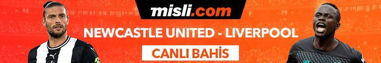Newcastle United - Liverpool maçı Tek Maç ve Canlı Bahis seçenekleriyle Misli.com'da