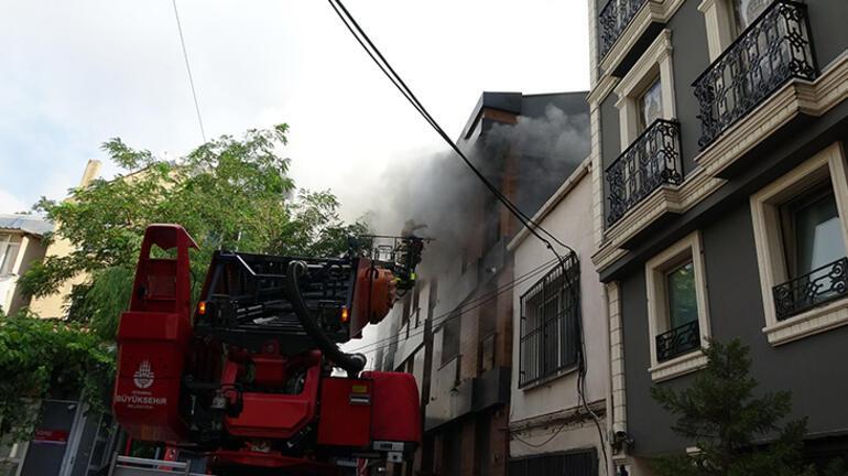 Son dakika: Tophanede korkutan yangın
