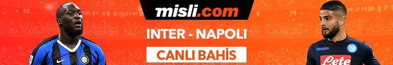 Inter-Napoli maçı Tek Maç ve Canlı Bahis seçenekleriyle Misli.com'da