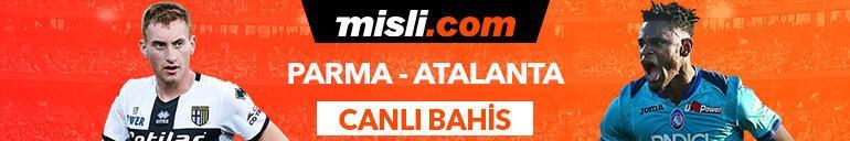 Parma-Atalanta maçı Tek Maç ve Canlı Bahis seçenekleriyle Misli.com'da