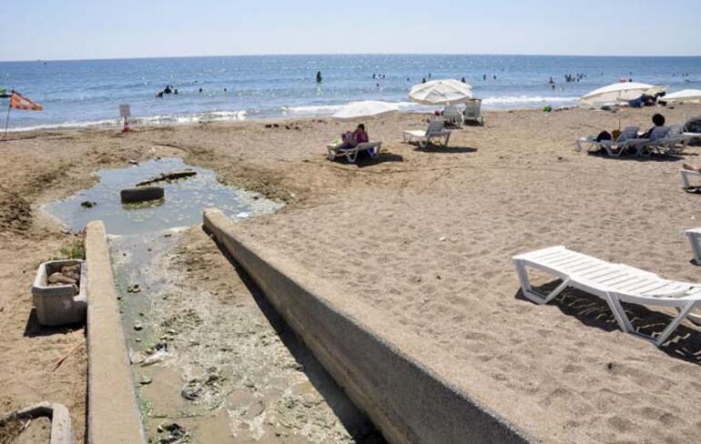 Sidede plajda kirlilik ve koku rahatsızlığı