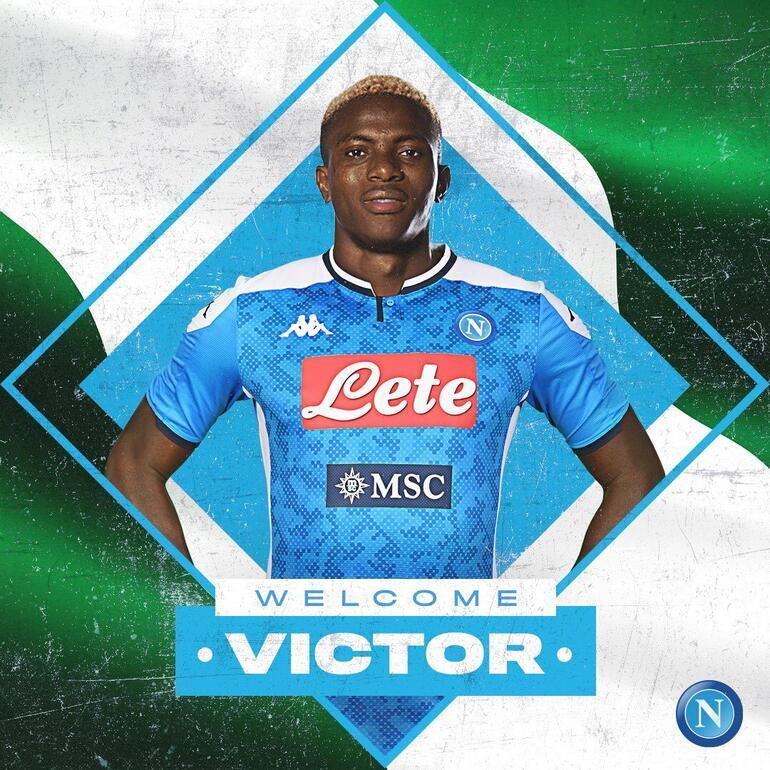 Son dakika   Napoli, Victor Osimheni resmen duyurdu