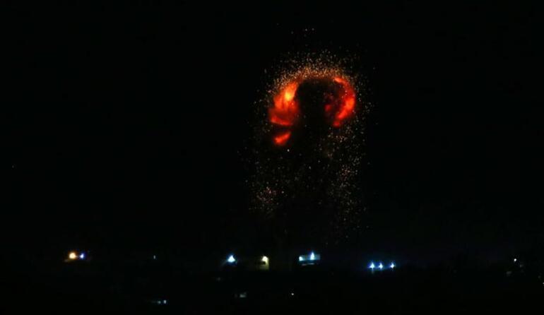 Son dakika... İsrail savaş uçakları Gazzeyi vurdu
