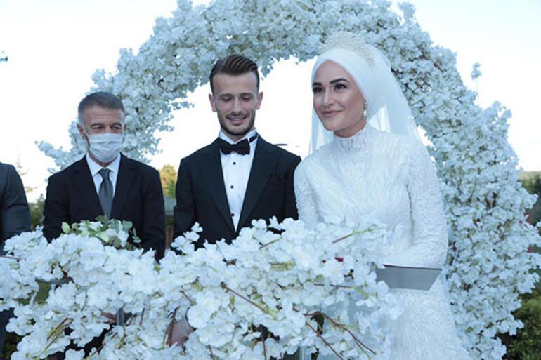 Abdulkadir Parmak, Merve Bozali ile evlendi