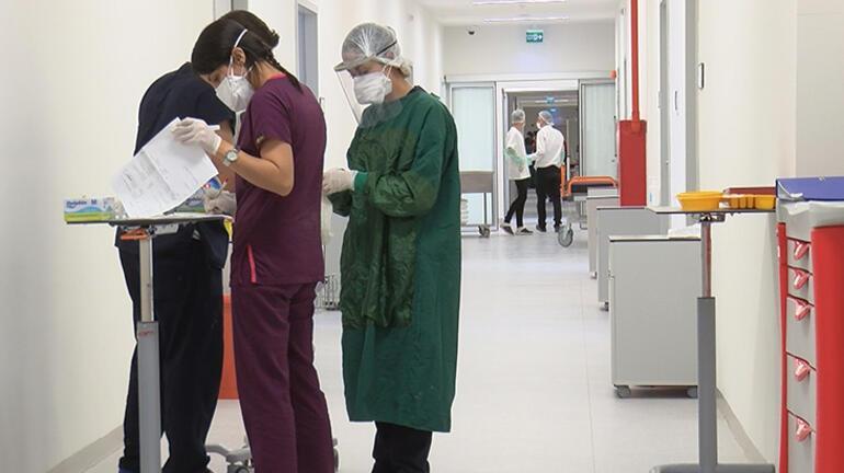 Son dakika: Pandemi hastanesinin yoğun bakım ünitesi ilk kez görüntülendi