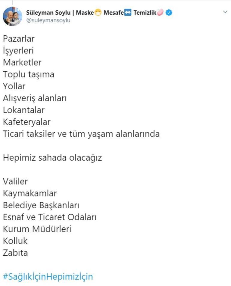 Son dakika... Bakan Soylu duyurdu Türkiyede en yoğun denetim yarın başlıyor