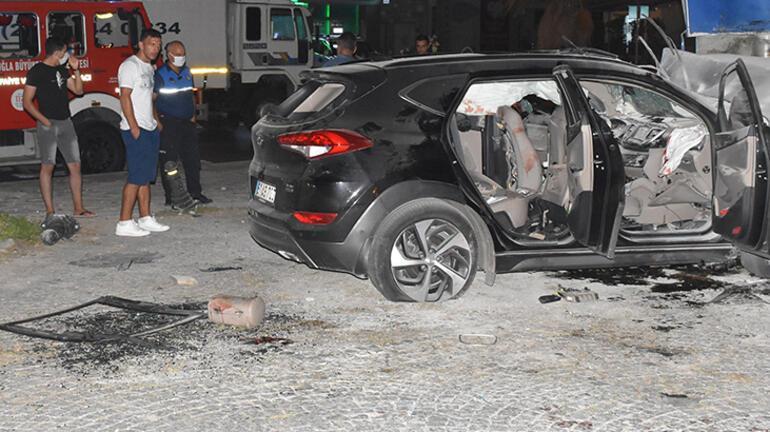 Bodrumda çok feci kaza 2 ölü, 3 yaralı