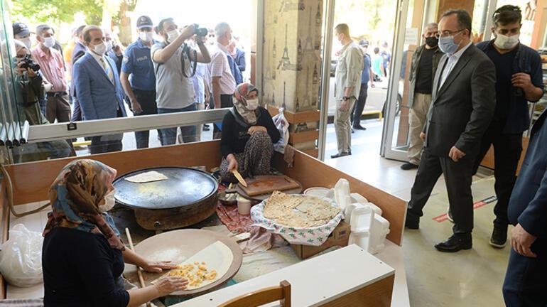 İçişleri Bakan Yardımcısı Çataklı, Malatyada Kovid-19 tedbirleri denetimine katıldı