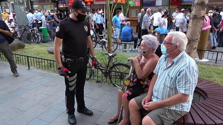 Antalyada corona virüs denetimleri Turistler memnun