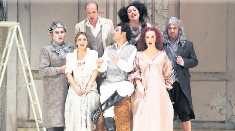 Mozart'ın romantik komedisi