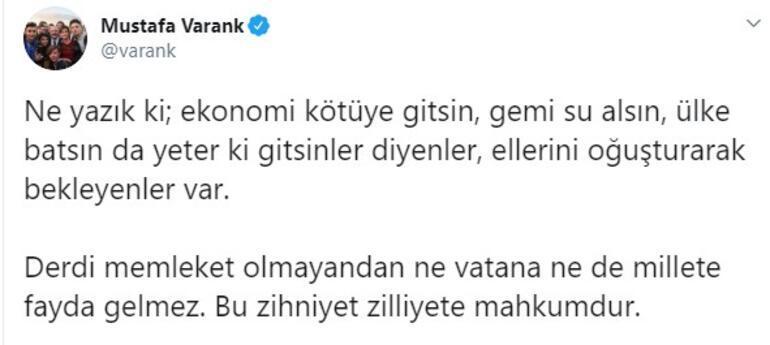 Bakan Varanktan Türkiye ekonomisi mesajı