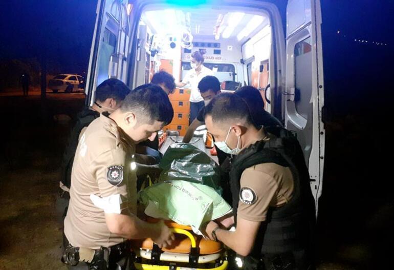 Polisin dikkati hayat kurtardı 4 saat sonra bulundu...