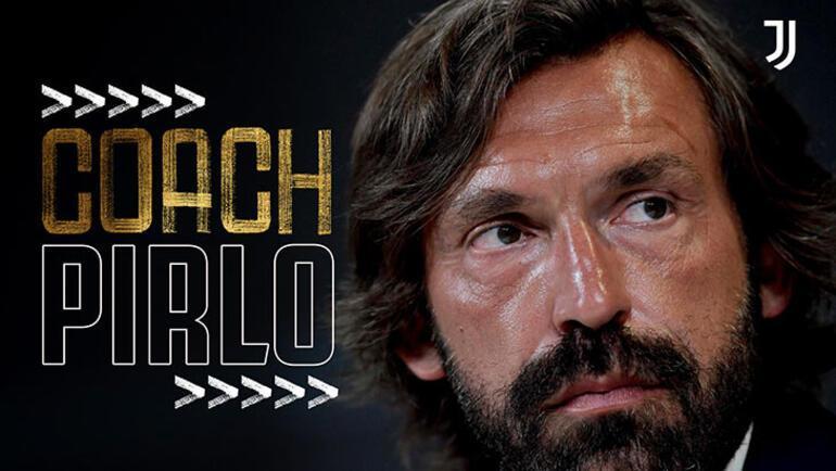 Juventusta yeni teknik direktör Andrea Pirlo oldu