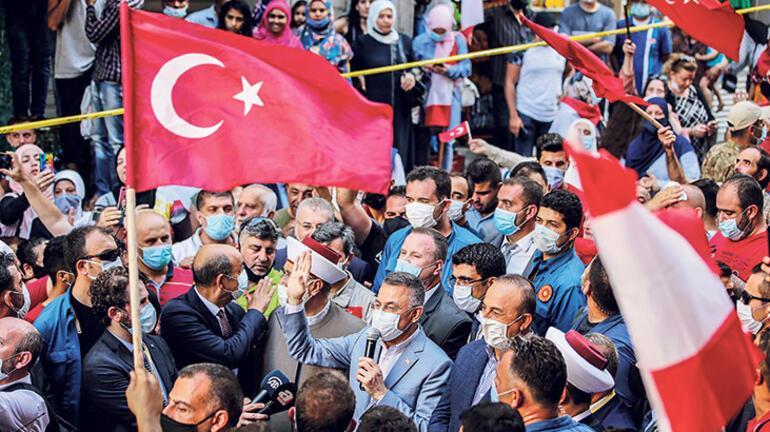 Türk heyeti Beyrut'ta