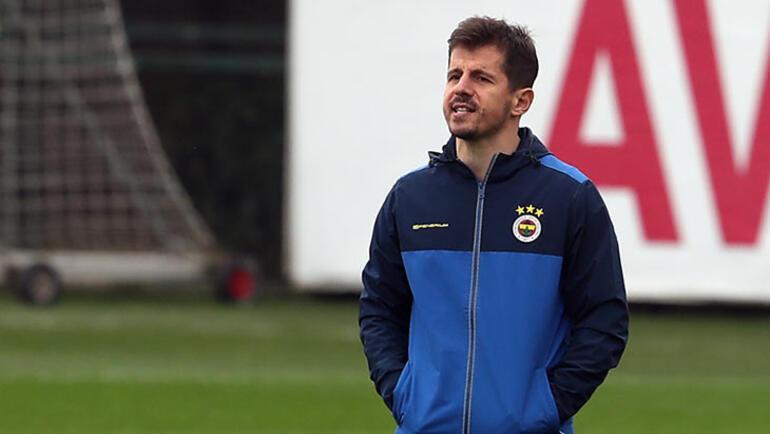 Fenerbahçenin ilk idmanında Emre Belözoğlu yer almadı