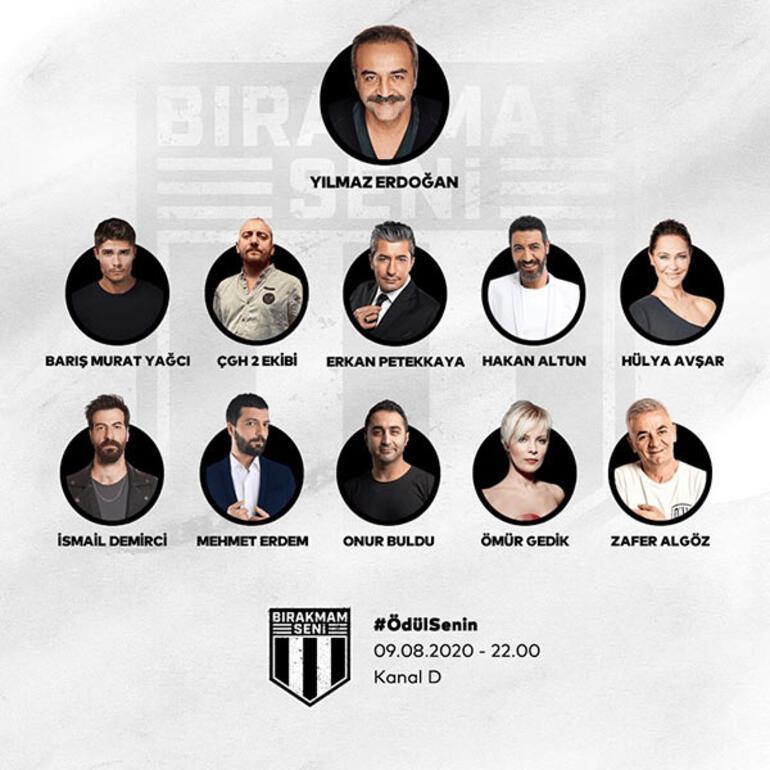 Beşiktaşın 'Bırakmam Seni' gecesi saat 22.00'de Kanal D'de