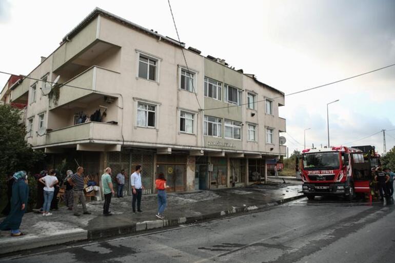 Terasta yakılan mangal felakete neden oluyordu