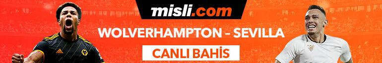 Wolverhampton - Sevilla maçı Tek Maç ve Canlı Bahis seçenekleriyle Misli.com'da