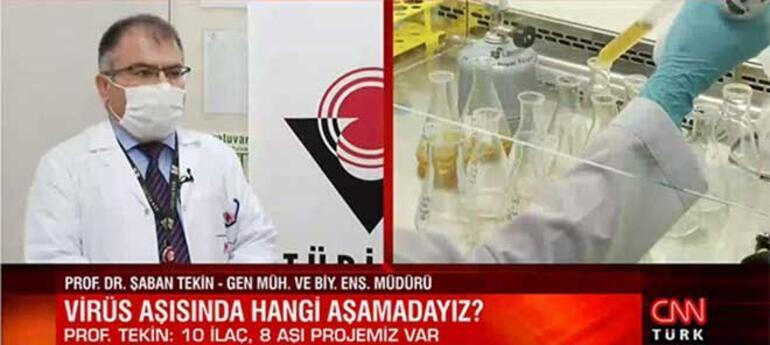Türkiye koronavirüs aşısında hangi aşamada TÜBİTAK Başkanı tarih verdi