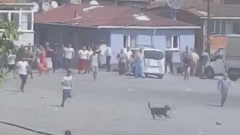 Esenlerde mahalle karıştı Ortalık savaş alanına döndü