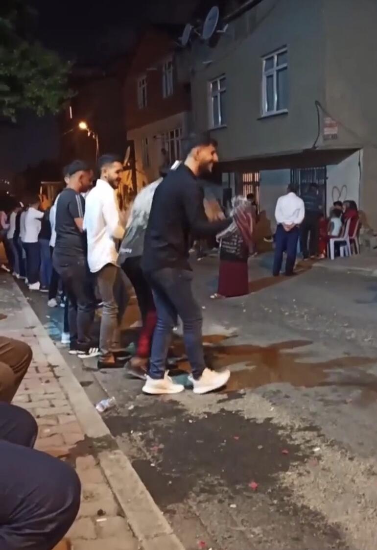 İstanbul'da asker uğurlamalarında dehşete düşüren görüntüler kamerada