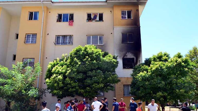 Adanada uyuşturucu parası vermeyen annesinin evini yaktı