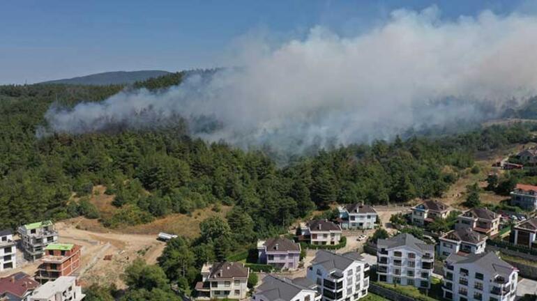 Bursada orman yangını Bakandan son dakika açıklaması