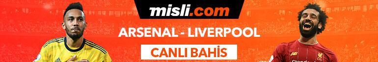 Arsenal - Liverpool maçı canlı bahis heyecanı Misli.comda