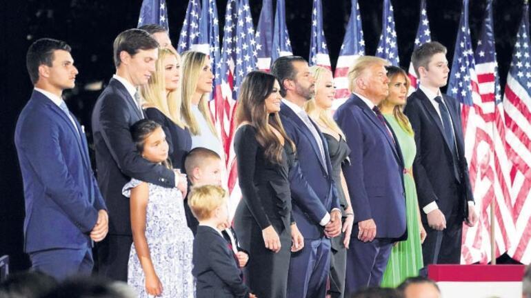 Ailesi Trump'a seçim kazandırabilir mi