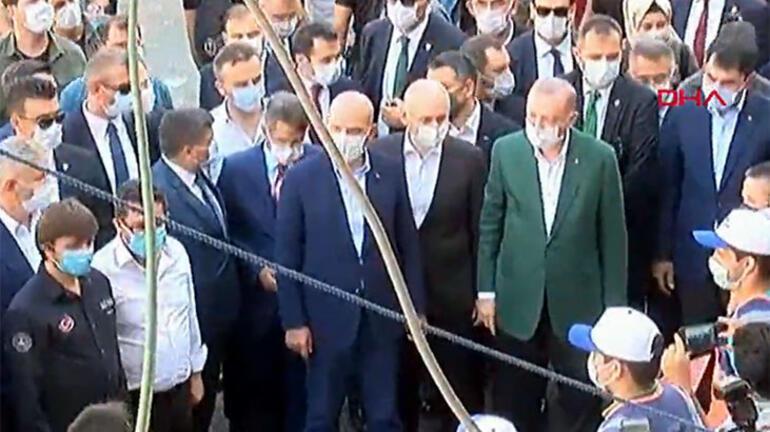 Son dakika Cumhurbaşkanı Erdoğan Giresunda
