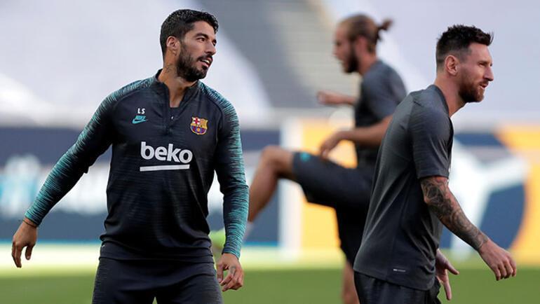 Barcelonada Luis Suarez krizi Messinin ardından...