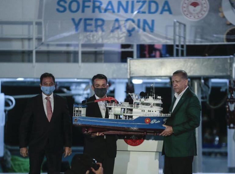 Son dakika... Cumhurbaşkanı Erdoğan: Akdeniz ve Egede haydutluğa asla eyvallah etmeyiz