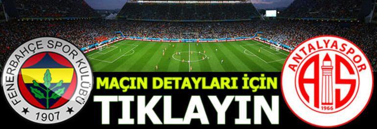Fenerbahçe - Antalyaspor: 4-0