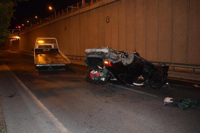 Malatyada alt geçitte feci kaza: 2 ağır yaralı