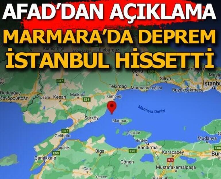 Uzman isimden Marmaradaki depreme ilişkin açıklama: Bundan büyüklerini göreceğiz