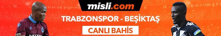 Trabzonspor - Beşiktaş karşılaşmasında Canlı Bahis heyecanı Misli.comda