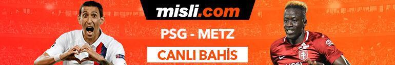 PSG - Metz karşılaşmasında Canlı Bahis heyecanı Misli.comda
