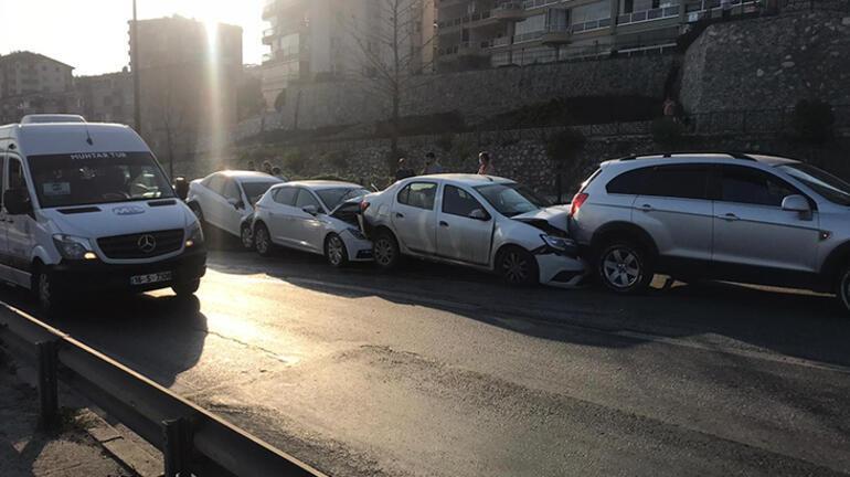 Bursada inanılmaz zincirleme kaza