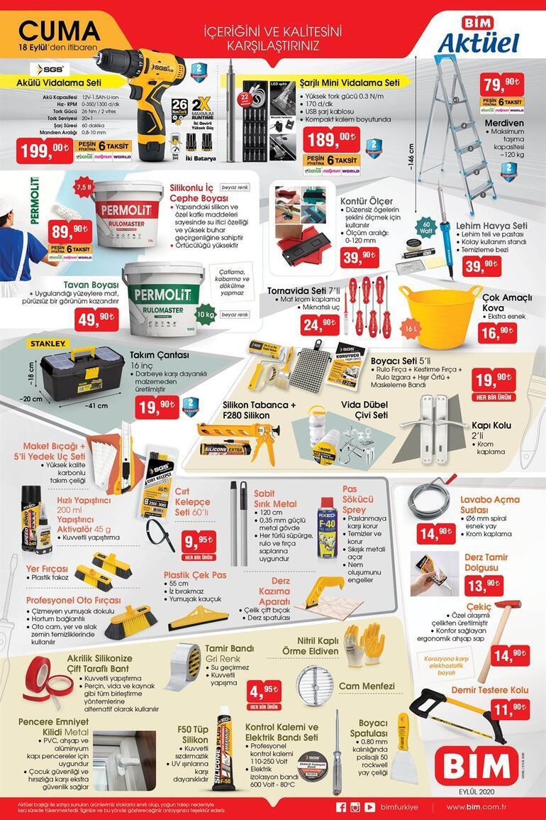 BİMde bugün hangi ürünler satışa sunuldu BİM mağazaları saat kaça kadar açık