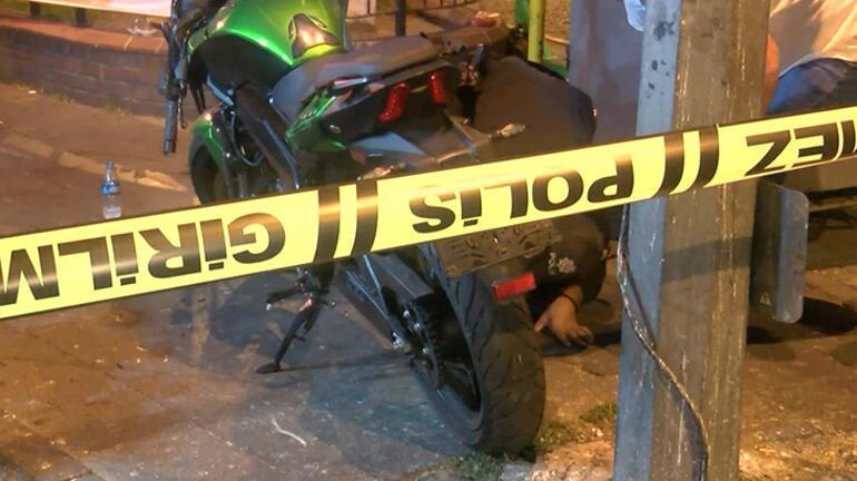 Şişlide polisten kaçan şüpheliler kaza yaptı