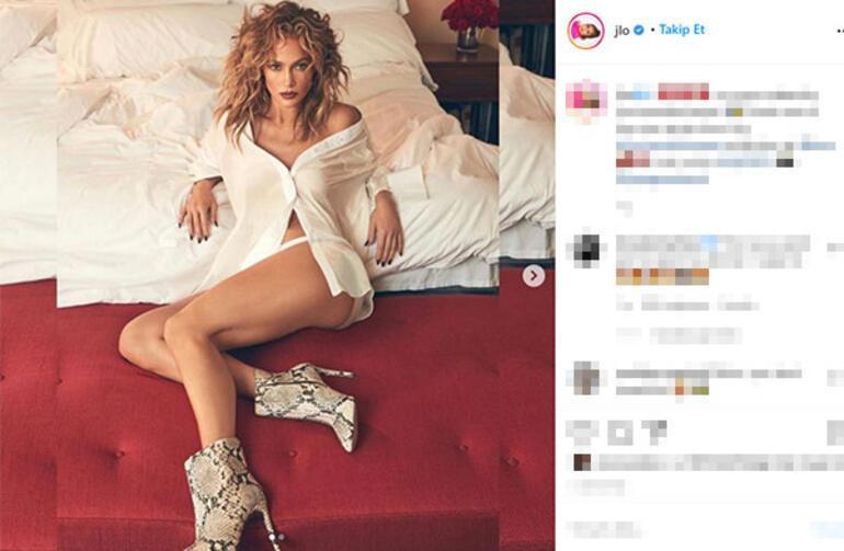 Jennifer Lopez kuralları yıktı