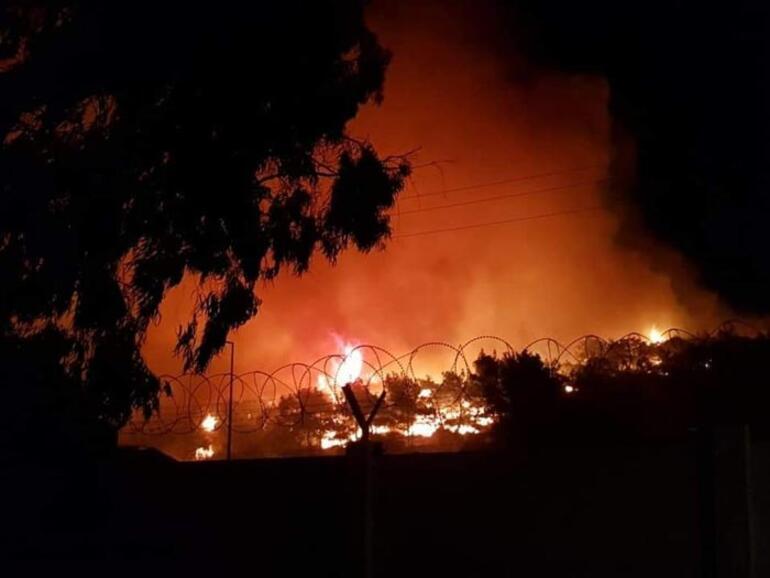 Son dakika: Balıkesirde korkutan yangın
