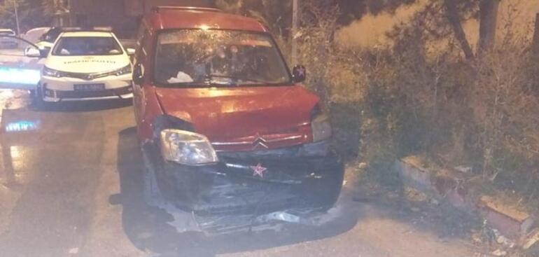 İki kişiyi yaralayıp kaçan sürücünün yaşı şoke etti