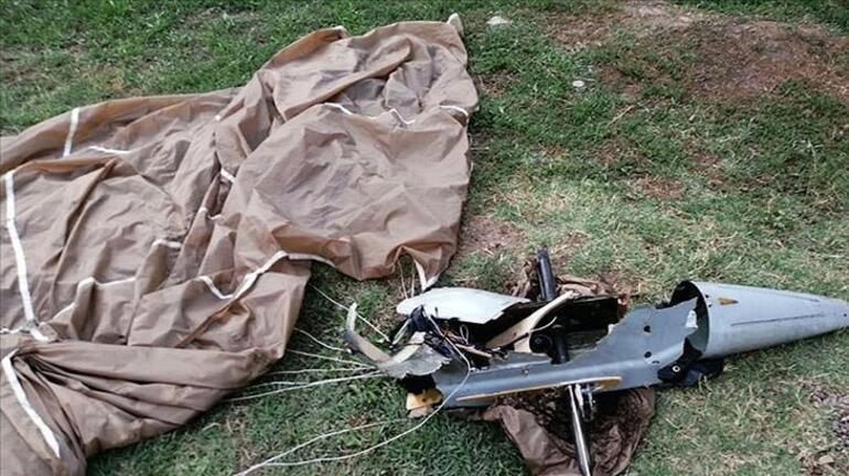 Azerbaycan ordusu Ermenistana ait İHAyı düşürdü