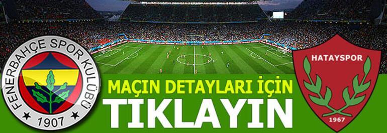 Fenerbahçe-Hatayspor: 0-0