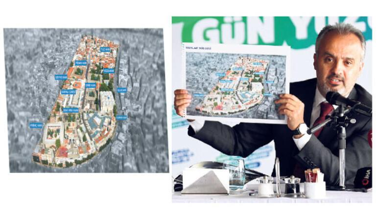 Bursa'nın stratejisi yeşil ve tarih oldu