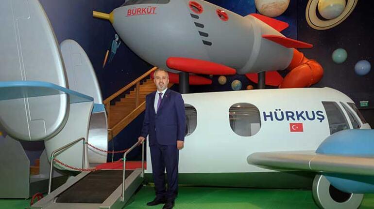 Bursada pilot ve uzay insanı yetiştirecek merkez açılışa hazırlanıyor