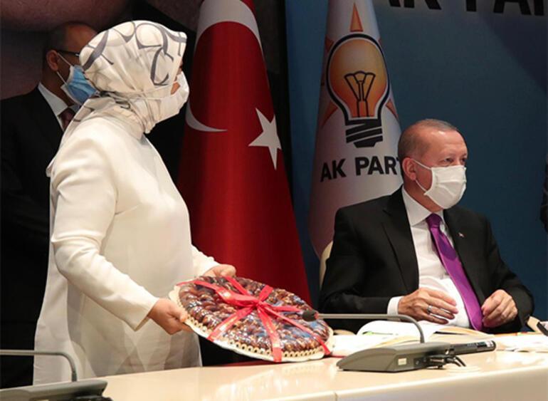 Cumhurbaşkanı Erdoğana kayısı ikramlı teşekkür