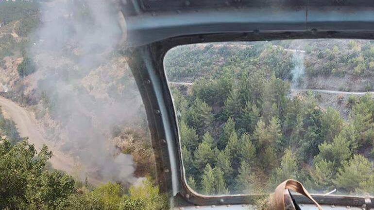 Hatay'daki 8 orman yangınına ilişkin 1 gözaltı