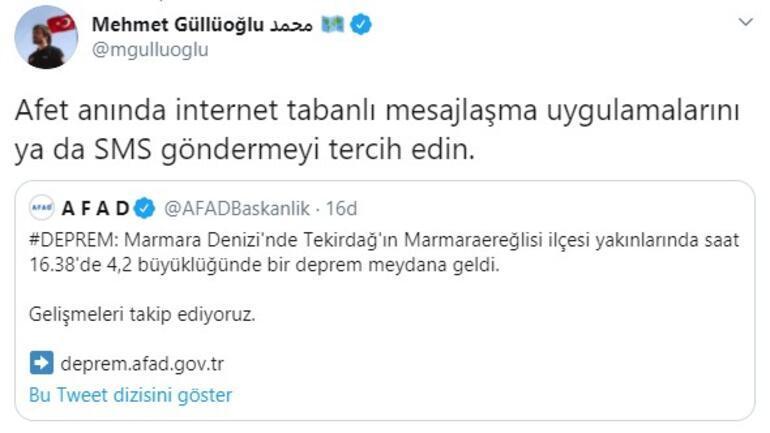 Son dakika... İstanbuldaki deprem sonrası dikkat çeken uyarı
